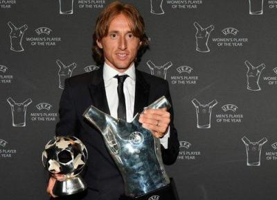 مودریچ: سال جاری بهترین سال دوران فوتبالم بود