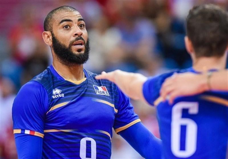 والیبال قهرمانی دنیا، ستاره فرانسو ی ها مصدوم شد