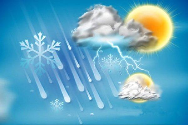 کاهش 3 درجه ای دمای هوای قم طی روزهای پایانی هفته