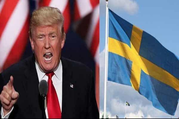 هدفی که ترامپ در سوئد برای ضربه زدن به اتحادیه اروپا دنبال می نماید