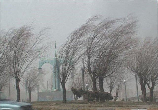 وزش باد شدید در برخی از مناطق کشور