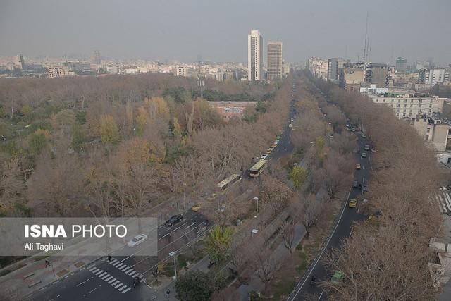 باران حریف آلودگی هوای تهران نشد