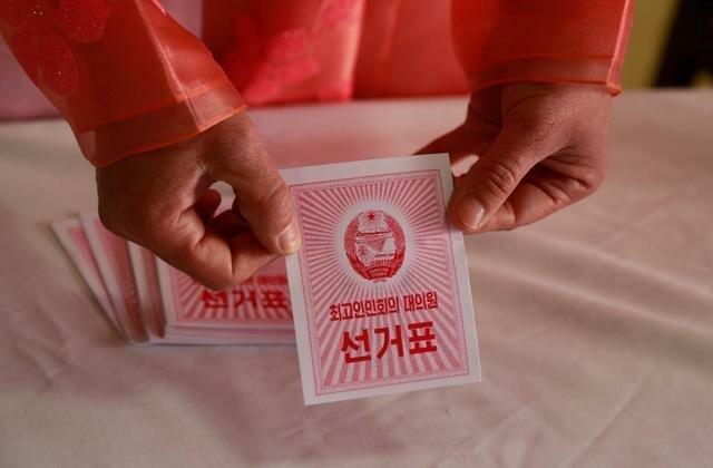 رهبر کره شمالی پای صندوق رأی رفت