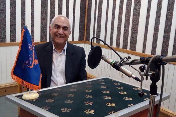 گفتگوی رادیو صبا با مرد لبخند