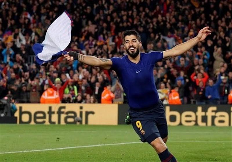رجحان دیرهنگام در بازی بزرگ، بارسلونا را به قهرمانی در لالیگا نزدیک تر کرد