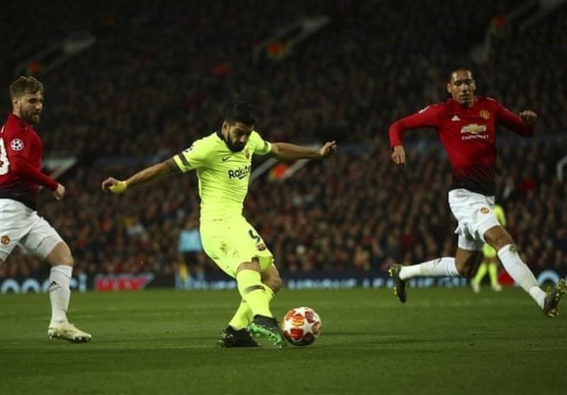 لیگ قهرمانان اروپا، بارسلونا با پیروزی در اولدترافورد به صعود نزدیک شد، یوونتوس با تساوی از زمین آژاکس به خانه بازگشت