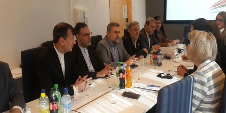 دیدار هیات پارلمانی ایران با معاون وزیر دولت های محلی و امور مدرنیزاسیون نروژ