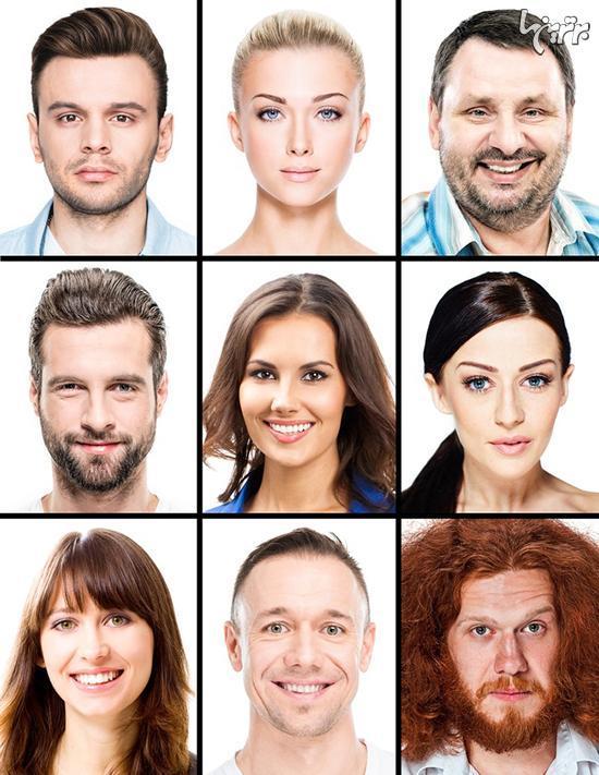 تست شخصیت: کدام چهره را بیشتر می پسندید؟