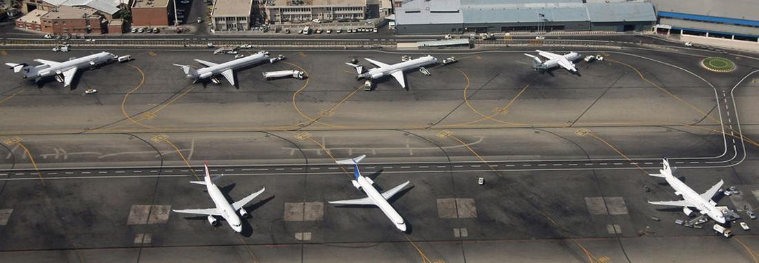 فرود اضطراری پرواز تهران &ndash مشهد با بیش از 450 مسافر ، لاستیک هواپیما ترکید