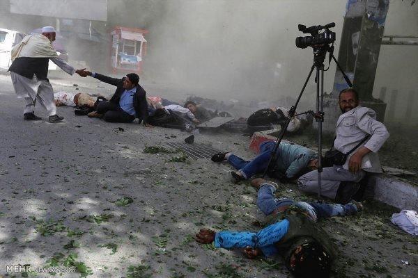 وقوع انفجار قوی در غرب کابل 95 زخمی برجا گذاشت