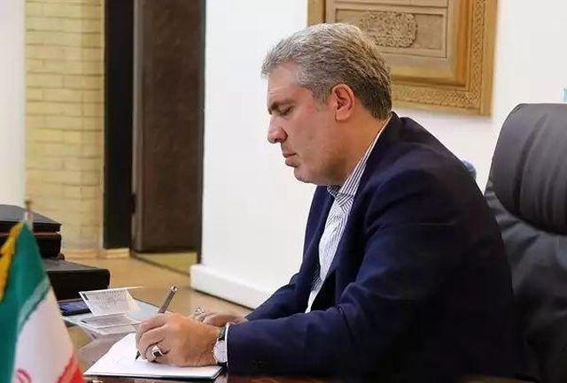 پیام تسلیت دکتر مونسان به رئیس سازمان تعزیرات حکومتی