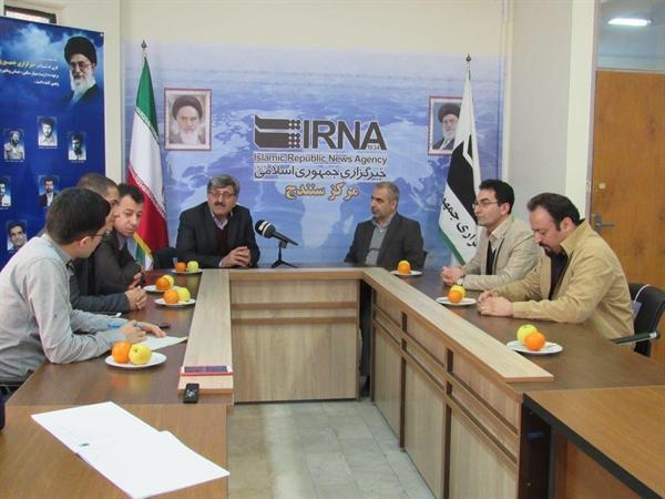 بازدید مدیرکل میراث فرهنگی کردستان از دفتر خبرگزاری ایرنا در سنندج