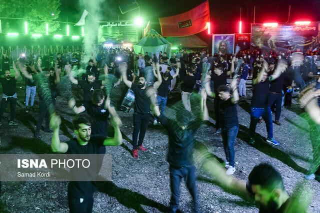 توزیع بیش از 100 کیلو کیسه تجزیه پذیر در دهه اول ماه محرم در منطقه 19 تهران
