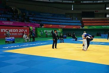 حضور تیم ملی جودو کم بینایان در مسابقات قهرمانی آسیا