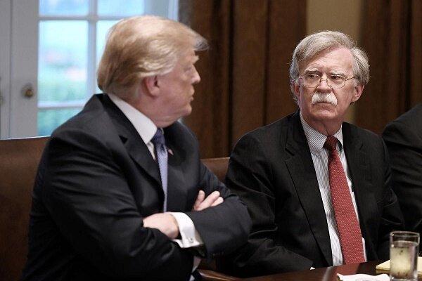 لغو تحریم های آمریکا علیه ایران؛ علت اخراج جان بولتون از کاخ سفید