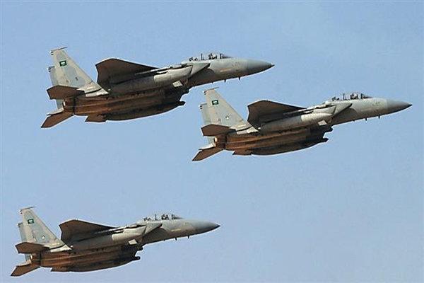 حملات جنگنده های سعودی به شهر مرزی عسیر