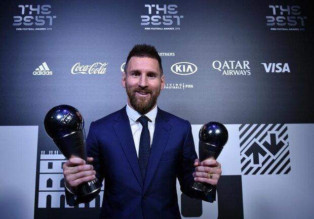 رای مسی در جایزه بهترین های فیفا به کدام بازیکن رسید؟