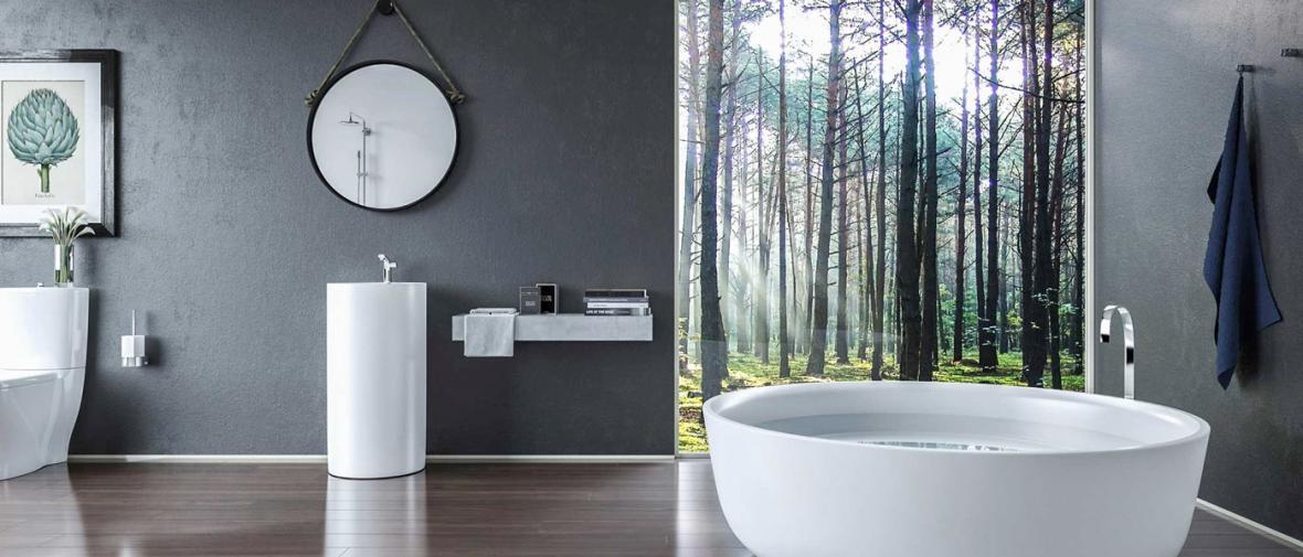 50 حمام با چشم انداز بی نظیر به طبیعت