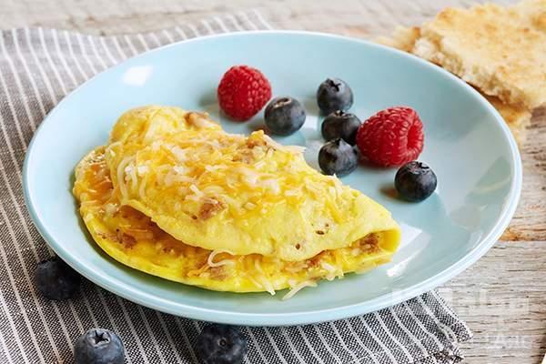 املت کالباس، صبحانه فوری و پر کالری