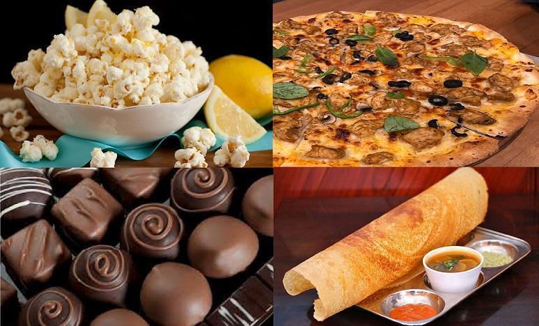 خوردنی های محبوب دنیا