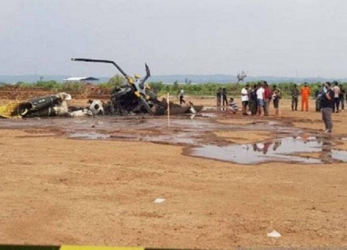 خبرنگاران سقوط بالگرد در اندونزی 9 کشته و زخمی برجای گذاشت