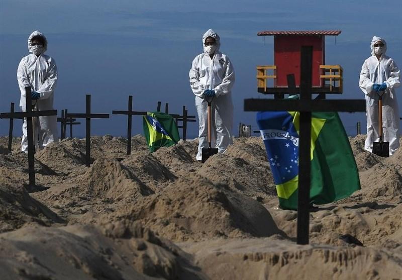 احتمال افزایش شمار قربانیان کرونا در برزیل به 200 هزار نفر