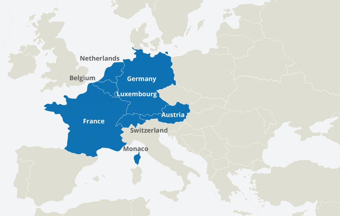 اروپای غربی کجاست و چه کشورهایی را شامل می گردد؟