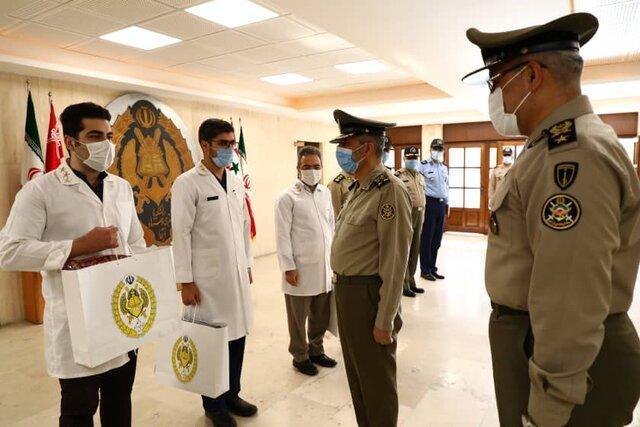 بازدید امیر سرلشکر موسوی از دانشگاه فرماندهی ستاد ارتش