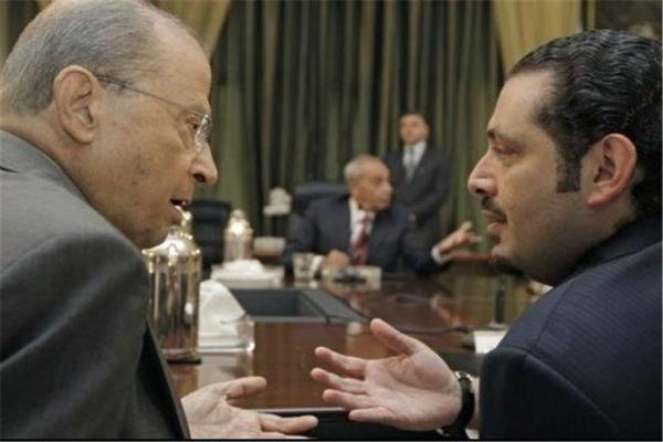 میشل عون و سعد الحریری با یکدیگر ملاقات می نمایند