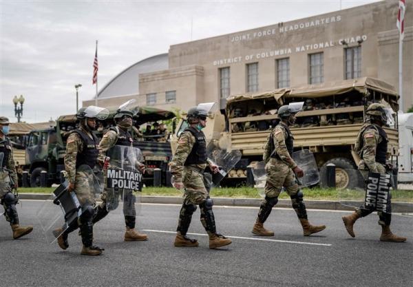پنتاگون: بیش از 21 هزار نیروی گارد ملی در واشنگتن مستقر شده اند
