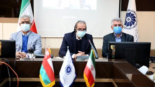 نقشه راهبردی تجارت ایران و عمان در حوزه های مختلف تدوین گردد