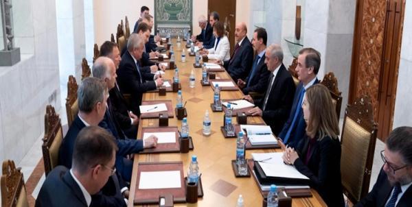 دیدار فرستاده پوتین با بشار اسد و تاکید بر تحکیم روابط راهبردی میان روسیه و سوریه