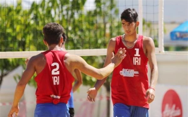 والیبال ساحلی زیر 19 سال ایران جهانی شد